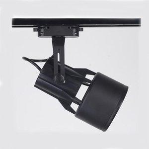 La luce della pista del LED Con Par30 Led 2 fili Indoor illuminazione commerciale E27 Spot Light Per Cloth Shop Jewel negozio