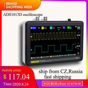ADS1013D الذبذبات الرقمية مزدوجة القناة 100M عرض النطاق الترددي 1GS معدل أخذ العينات اللوحي osciloscopio الذبذبات الرقمية portatble