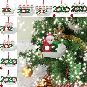 زخرفة عيد الميلاد زينة الأسرة ثلج خشبي عيد الميلاد شنقا قلادة شجرة عيد الميلاد سانتا كلوز معلقة مع قناع