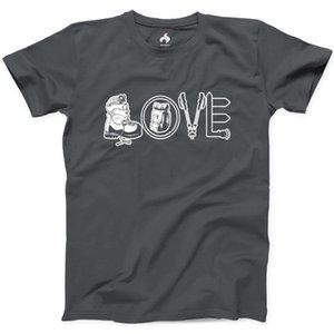 Senderismo amor camiseta 100% algodón para hombre de Nueva Tee Naturaleza camping T-Shirtnewest 2019 hombres de la manera del verano del Mens del inconformista camisetas