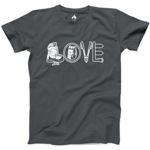 Love Hiking T-Shirt aus 100% Baumwolle New Mens Tee Natur Camping T-Shirtnewest 2019 Herrenmode Hipster Tees Sommermens