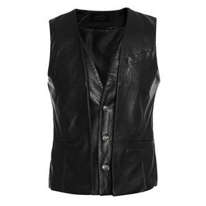 Men's Vests Laamei 2021 Mens Suit Vest Casual Business Sleeveless Waistcoat Solid Single Breasted Fashion Wedding Party Costume