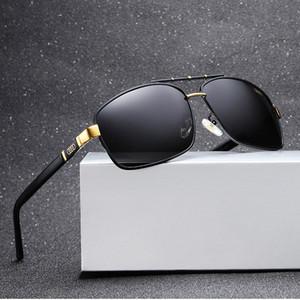 FOBHC Mode pour hommes polarise 550 mode nouveau soleil soleil Audi lunettes de soleil Audi lunettes de conduite lunettes de soleil cadre