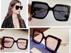 Classic fashion 0435 glasses polycarbonate sheet rectangular frame 0435S sunglasses men and women designer sunglasses with original box