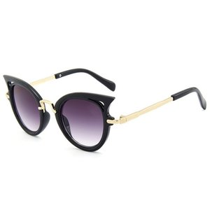 2020 Детских солнцезащитных очков девушки глаз кота дети очки мальчики UV400 линзы детского солнцезащитных очков милых очков оттенки очки