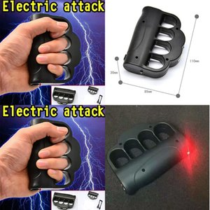 Fashion New Self Defense Luminous Toy Shockers Fingers Flash Light Toys Protect Yourself Electric Shock Only for Adult On Sale