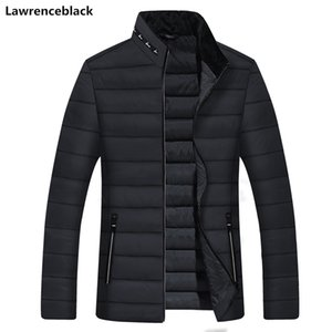 Mens Winter Jackets and Coats Male Parka Thick Warm Solid Color Men's Coat Padded Overcoat Outerwear Windbreakers Parkas for Men 200922