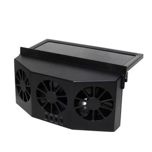 3 Cooler Car Fan Solar Energy Cooling Vent Exhaust Portable Safe Auto Car Gills Cooler Auto Ventilation High-power Fan