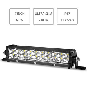 Dual Row Ultra Slim LED Work Light 7