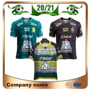 New 20/21 México Leon F. C. Futebol Jersey 2020 Liga MX clube Leon camisas casa 3ª futebol