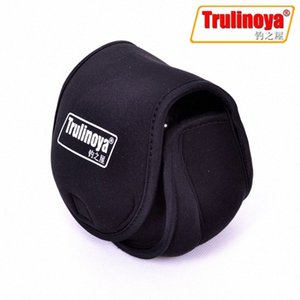 Wholesale- Trulinoya Fishing Reel Bag Protective Cover Spinning Reel Protective Case Sleeve Carp Fishing Bags Carp Fishing Bag yXnH#
