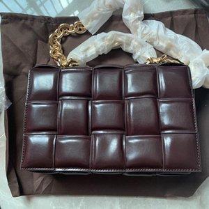 Verkauf von Rindsleder Wintertasche Taschen Herbst Damen Square und Knicken Messenger Mode Kissen Einzelne Schulter Heiße Tasche Vielseitig klein 202 NTWV