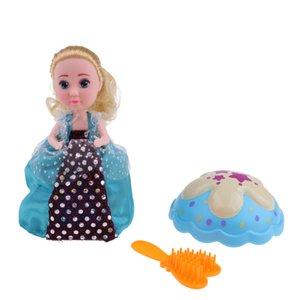 Süßes Karamell-Kuchen Betty Puppen Spielzeug mit Überraschung, Kuchen-Transformation zu Prinzessin Puppe