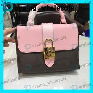 Lock-Beutel-Leder-Dame-Kurierbeutel für Frauen arbeiten Schulranzen Umhängetasche Handtasche Umhängetasche presbyopic Paket Handy FL