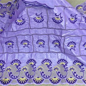5y New arrival african Bazin riche fabric with beads embroidery lace   bazin riche dress material Nigerian 5+2 yards ! HL81421