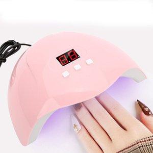Nail Осушитель Лампе Led Ув 54W Маникюр гель для ногтей Сушилка Seche Ongle ногтей Сушилка Автоматический датчик лампы