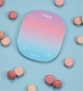 Bunte intelligente Küchenwaage Lebensmittelwaage Ernährung Home Backen kleine elektronische Maßstab