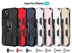 Kickstand per iPhone 7plus Armatura caso Heavy Duty casse del telefono per iPhone 2 11 xs max antiurto duro della protezione del basamento della copertura Holder
