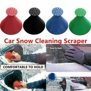 New Snow Remover Magical Window Windshield Car Ice Scraper Cone Shaped Funnel Housekeeping Cleaning Tool 4 Colors CYZ2798 Sea Shipping
