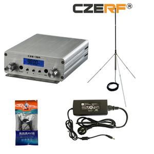 CZE-15A 2W / 15W FM Transmitter Set 88MHz ~ 108MHz Long Range FM Exciter Für FM Radio Station Broadcast-+ 1/4-Wellen GP Antenna Kit FU 15A