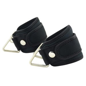2Pc Fitness Padded Resistance Bands Ankle Cuffs Foot-Support Straps Cable-Machine Attachment Hip Leg Workout Training Equipment Y200506