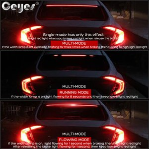 Ceyes Car Brake Lights High Mount Stop Rear Tail LED Signal Lamp Accessories Styling Auto Decorate Safety Flexible Warning 900mm