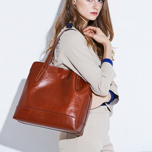 2019 Genuine Leather Womens Shoulder Bags Womens Crossbody Bag Ladies Shoulder Messenger Bags Branded Bags Leather Backpacks From , $5 y8wl#