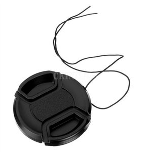 DHL 500PCS Size 49mm - 82mm Snap-On Lens Front Camera Cap Cover for Canon Nikon Sony Alpha DSLR Protector