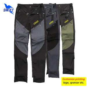 2020 pantaloni staccabile uomini escursioni rapidamente asciugano all'aperto UPF50 traspiranti campeggio Shorts + pantaloni 2 in 1 Sportswear Abbigliamento Personalizza
