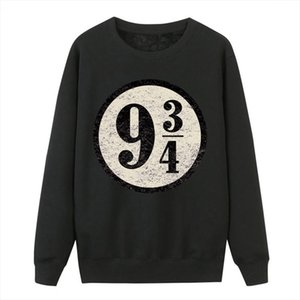 Platform 9 3 4 Hogwarts Pullover Hoodies Women Sweatshirts Vintage Platform Nine And Three Quarters Female Hooded Sweatshirts