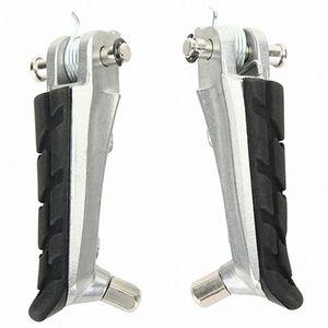 1 Set Motosiklet Ön Footrest Pedal Ayak Pegs Ayak Pegs Pedallar için Cb250 CBR600F CB600F Nc700 j5vV #