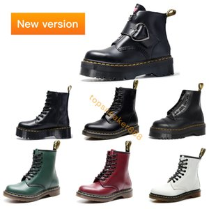 2020 La nuova piattaforma Man all'aperto Stivali Martin Stivali Donna 1460 Nappa Boots Jadon PlatformMan 2976 Martin 1461 Womens Eur 35-46