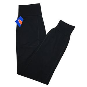 Pantaloni a vita alta Sport Yoga Pants L-26 delle donne fitness Esecuzione Leggings colore solido casuale pantaloni lunghi