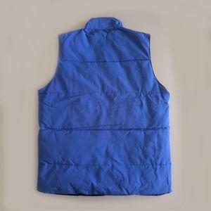 Kalınlığı Erkekler Down Vest Coat Erkek Windproof Açık Giyim Ceket Yeni Geliş Siyah Yüksek Kalite Erkekler Yelek Kalınlaştırıcı Yelek Plus'ı Isınma