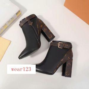 Newest Womens Boots Boots Matchmake Boot Boot Fashion Women Shoes Botines 1A5lml Botas de cuero Botas Mujeres Venta al Por Mayor