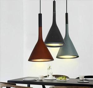 Modern Restaurant Pendant Light study modern Suspension Pendant lamp Nordic bedside bedroom single head resin bar Home Lighting