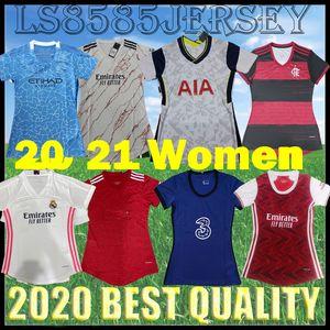 Kadınlar FC Manchester B.FERNANDES 20 21 WERNER Real Madrid ev futbol Jersey Birleşik ARSEN camisa de futebol 2021 KANE Blåe Futbol Gömlek