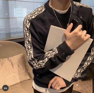 2020 Neue Neueste Дизайнер Herbst Winter Herren Pullover Klassische Режим пуловер Männer Marke Rundhalsausschnitt Kleidung Хох qualität мит