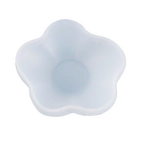 Flower Dish Resin Mold Plate Jewelry Dish Jewelry Storage Molds Trinket Dish Tray DIY Resin Craft Mould