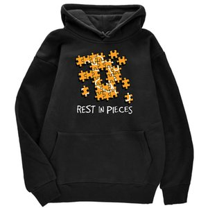 Rest in Pieces Puzzle Print Men's Clothes Loose Fashion Hoody Simplicity Casual Sweatshirt Pullover Fleece Cartoons Mens05