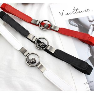Cummerbund Women High-elastic Cummerbund Flower Decoration Buckle Belt Dress Accessories