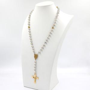 1 promozioni all'ingrosso donne religiose cattoliche cristiane vergini mary rosario collana gioielli policroma cristallo perline di preghiera
