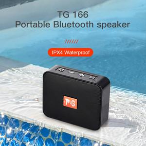 Mini Speaker TG166 Portable music Player speaker With FM Radio Bluetooth Speakers Subwoofer Outdoor Hands-free Calling SoundBox