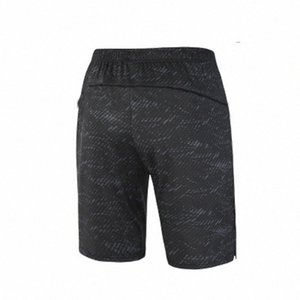 Black Men Sports Shorts Running Elasticity Fitness Exercise High Quality Jogging Comprssion Sweatpants For Male Training um64#