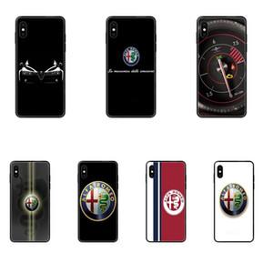 아이폰 11 12 프로 5 5S SE 5C 6 6S 7 8 X 10 XR XS 플러스 맥스 알파 로미오 로고 럭셔리 자동차 TPU 보호자 전화 케이스에 대한