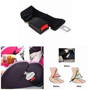 36 centímetros ajustável assento de segurança do carro Belt Cinto de segurança Extensão Strap seguros fivela Extender Suporte Buckles Clipe para as mulheres grávidas