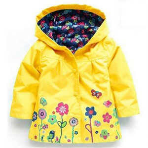Baby Girls Windbreaker 2020 Spring Jackets For Girls Trench Coat Raincoat Kids Outerwear Coat For Jacket Children Clothes