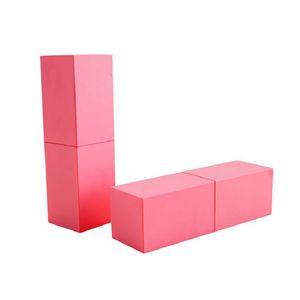Handmade DIY Plastic Pink Square Empty Lip Gloss Tube High-grade Inner Diameter 12.1 MM lipstick Tube Container 20pcs lot