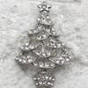 Presentes árvore Cgjxs Wholesale Crystal Rhinestone Natal Pin Broche Natal Traje Moda Broches Jóias presente C442