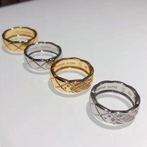 Высокое качество Производители Внешний вид Значение зашкаливает Coco Давка Ромбическая Ring Series Логотип Все модернизированного Голые тела бриллиантовое кольцо